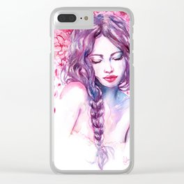 Valentina Clear iPhone Case