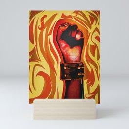 """Fired."" Mini Art Print"