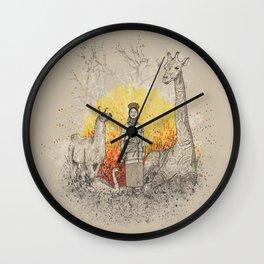 Long Neck Folks Wall Clock