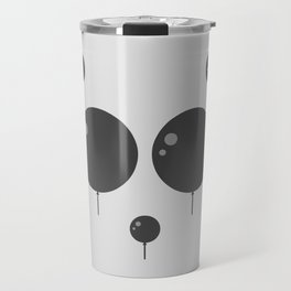 Panda Balloon  Travel Mug