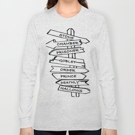 HP Series Signage Long Sleeve T-shirt