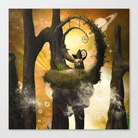 wonderland Canvas Prints featuring Wonderland  by nicky2342