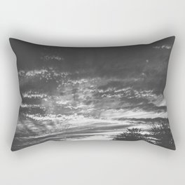 The Night Lands Rectangular Pillow
