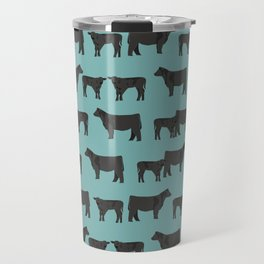Angus Cattle breed farm gifts must have cow animal Travel Mug