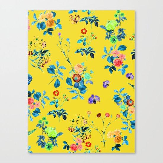Floral Shower || #society6 #decor #buyart Canvas Print