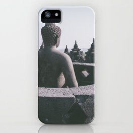 Meditating Buddha, Indonesia iPhone Case