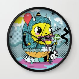 See You On The Other Side Wall Clock