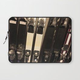 Vintage Skis Laptop Sleeve