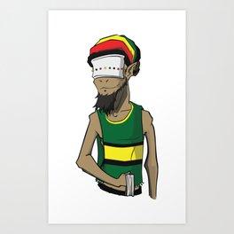 Goat v2 Art Print