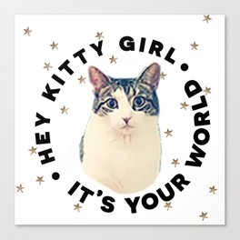 RuPaul - Kitty Girl Canvas Print