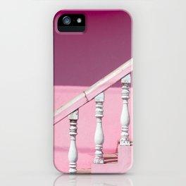 Pink Stairway iPhone Case