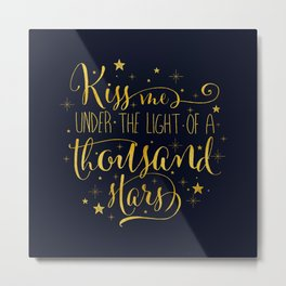A Thousand Stars Metal Print