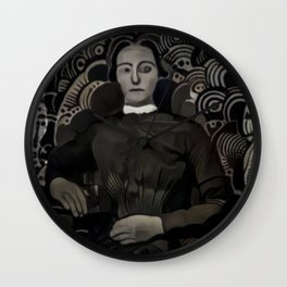 Victorian deepdream Wall Clock