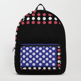 American Flag | Funny Gambling Gift Backpack