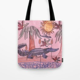 Swamp Hunt Tote Bag