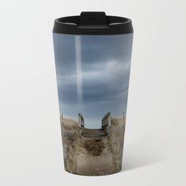 Melmerby Beach Boardwalk Travel Mug