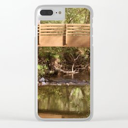Bridge Over Brook Clear iPhone Case