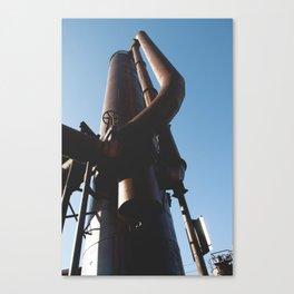 Gas Works Canvas Print