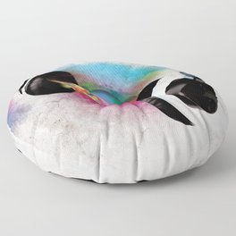 feeling sound Floor Pillow