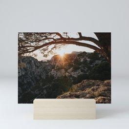 Sunset - Landscape and Nature Photography Mini Art Print