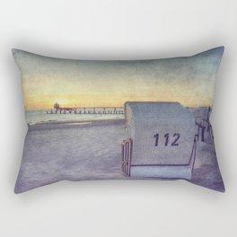 baltic sunrise Rectangular Pillow
