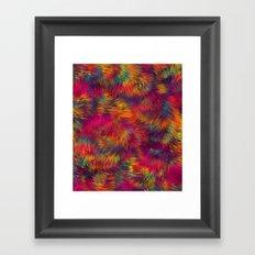 Rainbow Cuddles 08 Framed Art Print