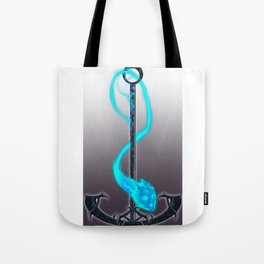 An Anchor Damsel in her fire form Tote Bag