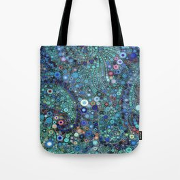 :: Ocean Fabric :: Tote Bag