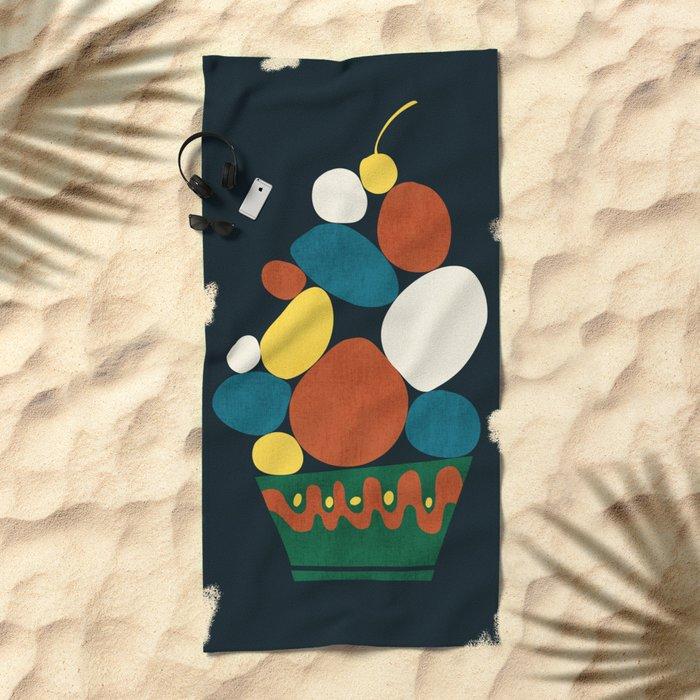 Dessert Beach Towel