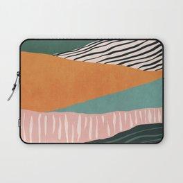 Modern irregular Stripes 02 Laptop Sleeve