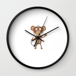 monkey doctor Wall Clock