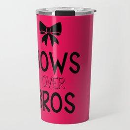 Bows over bros Travel Mug