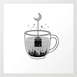 Please Brew Me a GoodNight Art Print