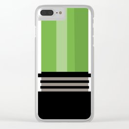 light saber Clear iPhone Case