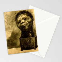 "Odilon Redon ""Cactus Man"" Stationery Cards"