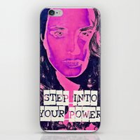power iPhone & iPod Skins featuring Power by Cullen Rawlins