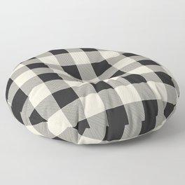 Buffalo Plaid Floor Pillow