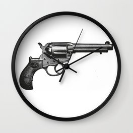 Revolver 7 Wall Clock