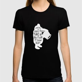 Sometimes the Smallest things - Winnie the Pooh inspired Print T-shirt