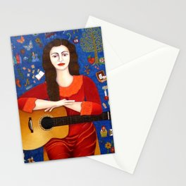 "Violeta Parra - ""Thanks to Life "" Stationery Cards"