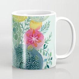 Succulent Circles Coffee Mug
