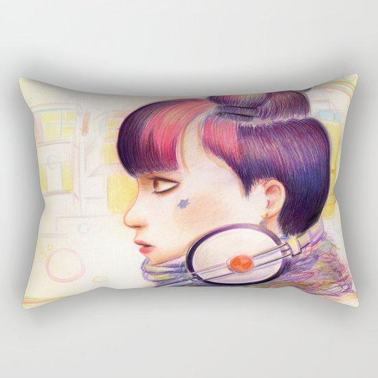 Sweet Dj Rectangular Pillow