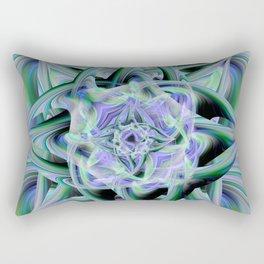 Twirled Lights Rectangular Pillow