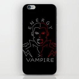 Energy Vampire iPhone Skin