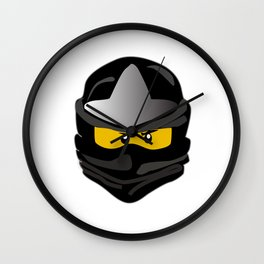 Ninjago face Cole Wall Clock