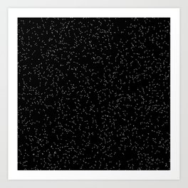 Particle System Art Print