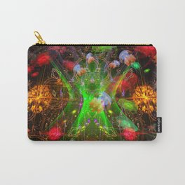 Bioluminescent Plankton and Jellyfish Carry-All Pouch