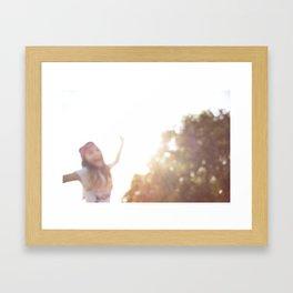 Yoyo Girl Framed Art Print