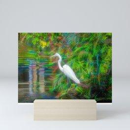 Crane Fantastique Mini Art Print