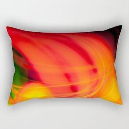 Colour Abstract Rectangular Pillow